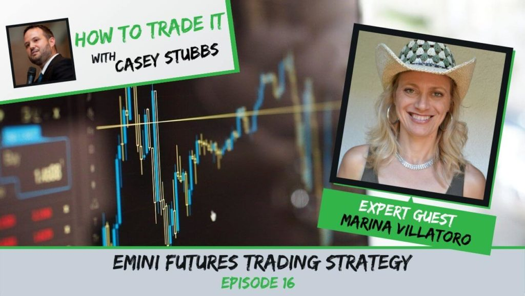 Marina Villatoro emini futures trading strategy