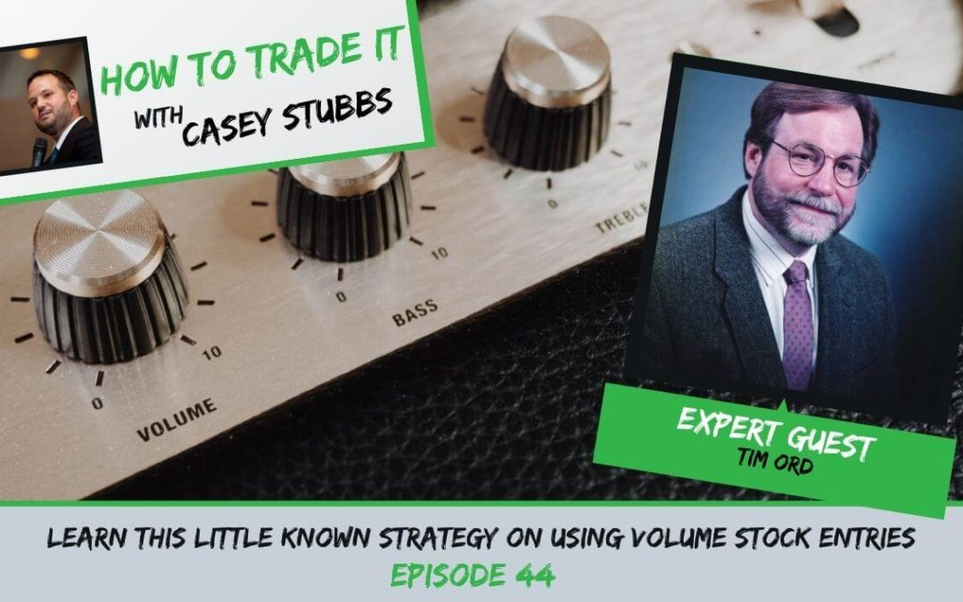 Learn This Little Known Strategy on Using Volume Stock Entries Ep #44