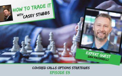 Dan Passarelli's Covered Calls Options Strategy, Ep #53