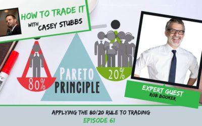 Applying the 80/20 Rule to Trading with Rob Booker, Ep #61