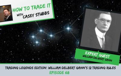 Trading Legends Edition: William Delbert Gann's 12 Trading Rules, Ep #68
