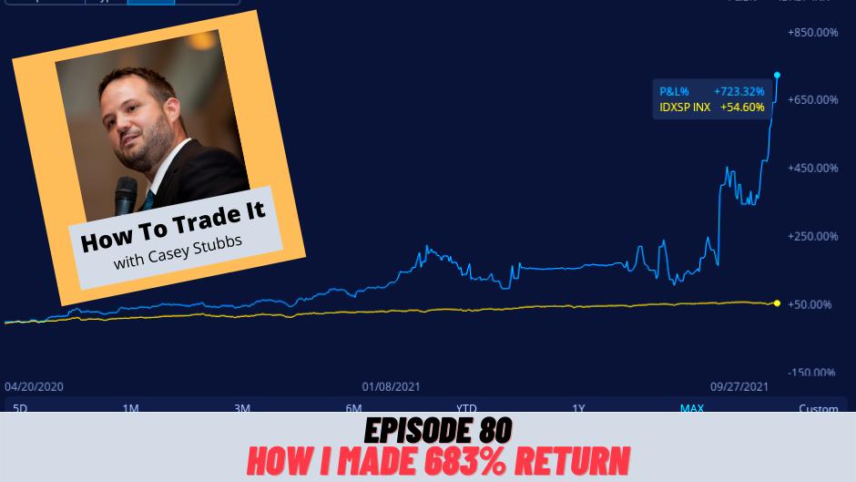 How I Made 683% Return Last Year, Ep 80