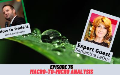 Macro-To-Micro Analysis with Samantha LaDuc, Ep #76